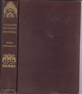 Image for Johnson Without Boswell: A Contemporary Portrait of Samuel Johnson