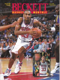Image for Beckett Basketball Monthly Magazine - #54 - January 1995 : Grant Hill Cover