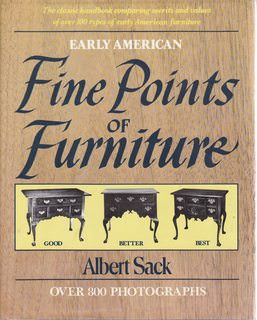 Image for Fine Points Of Furniture: Early American