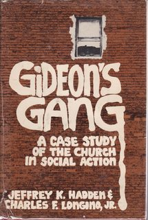 Image for Gideon's gang: A case study of the church in social action