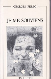 Image for Je Me Souviens (French Edition)