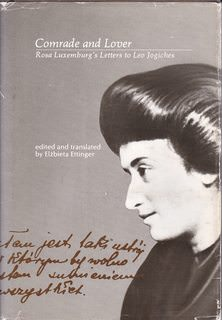 Image for Comrade and Lover: Rosa Luxemburg's Letters to Leo Jogiches (English and Polish Edition)