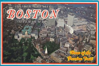 Image for Souvenir Book of Historic Greater Boston Massachusetts [Home of the Freedom Trail]