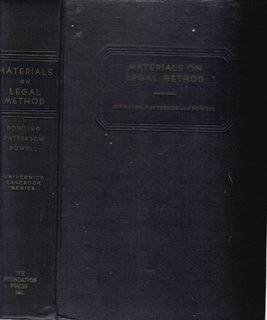 Image for Materials for Legal Method - University Casebook Series