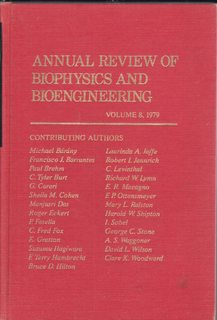 Image for Annual Review of Biophysics and Bioengineering; Vol 8 1979