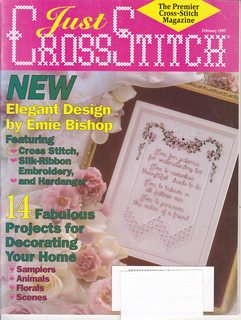Image for Just CrossStitch Single Issue Magazine (January/February 1997, Vol.14. Number 6)