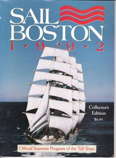 Image for Sail Boston 1992 Collector's Edition.