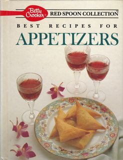 Image for Betty Crocker's Best Recipes for Appetizers (Betty Crocker's Red Spoon Collection)