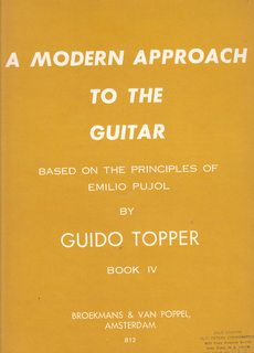 Image for A Modern Approach to the Guitar, Based on the Principles of Emilio Pujol Book IV