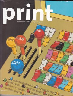 Image for Print: America's Graphic Design Magazine (Digital Design Annual 2002 LVI:III)