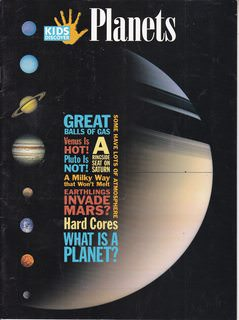 Image for Kids Discover Magazine Planets Volume 16 Issue 10 (October 2006)