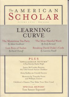 Image for The American Scholar, 2005 (Vol. 74, No. 4)