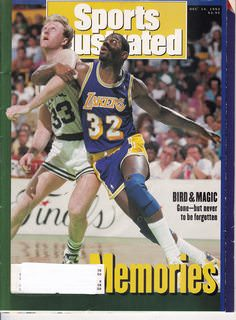 Image for Sports Illustrated Magazine Dec. 14, 1992 Vol 77, No. 25 (Memories: Bird & magic Gone -but never to be forgotten)