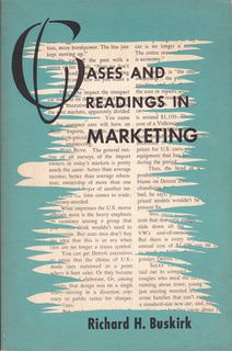 Image for Cases and Readings in Marketing