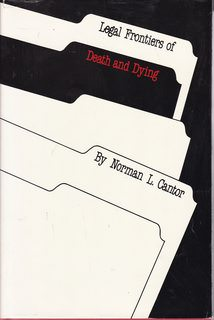 Image for Legal Frontiers of Death and Dying (Medical Ethics Series)
