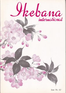 Image for Ikebana International, Issue No. 62, October 1981