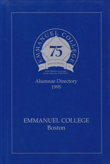 Image for Emmanuel College (Boston) Alumnae Directory: 75th Anniversary 1995