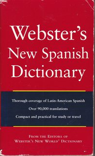 Image for Webster's New World Spanish Dictionary