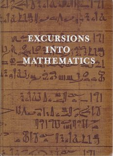 Image for Excursions into Mathematics by Beck, Anatole (1969) Hardcover