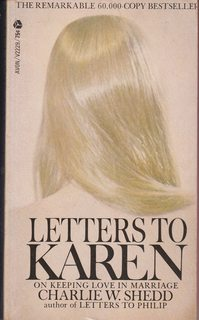 Image for Letters to Karen on Keeping Love in Marriage