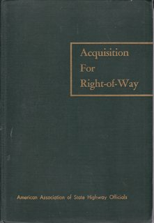 Image for Acquisition for Right-of-Way