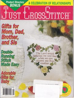 Image for Just Cross Stitch (February 1994)