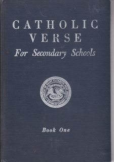 Image for Catholic Verse for Secondary Schools Book One