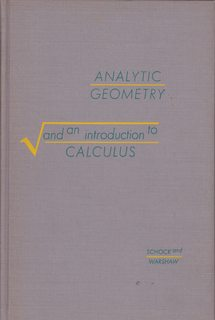 Image for Analytic Geometry and an Introduction to Calculus