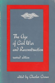 Image for Age of Civil War and Reconstruction, 1830-1900 (The Dorsey series in history)