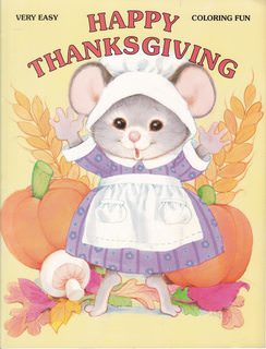 Image for Happy Thanksgiving (Very Easy Coloring Bks)