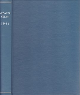 Image for The Vedanta Kesari Vol. LXVIII (Jan-Dec. 1981; 12 issues bound as one)