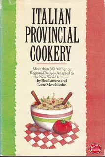 Image for Italian Provincial Cookery: More Than 300 Authentic Regional Recipes Adapted to the New World Kitchen