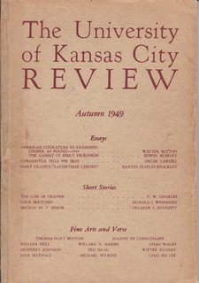 Image for The University of Kansas City Review Vol. XVI Number 1 (Autumn 1949)