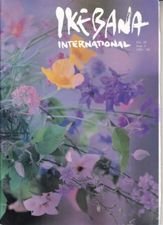 Image for Ikebana International Vol. 38 Issue 3  Publication No. 99 1993-94