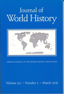 Image for Journal of World History Volume 22, Number 1 March 2011