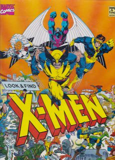 Image for Look and Find X Men (Look & Find Books)