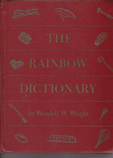 Image for The Rainbow Dictionary