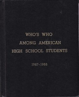 Image for Who's Who Among High School Students, 1987-1988 (22nd Edition Vol. VII only)