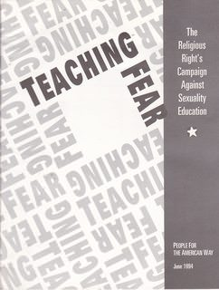 Image for Teaching Fear: The Religious Right's Campaign Against Sexuality Educaion