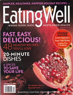 Image for Eating Well Magazine (Fast, Easy, Delicious 48 Healthy Recipes You'll Love, December 2010)