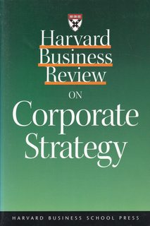 Image for Harvard Business Review on Corporate Strategy (Harvard Business Review Paperback Series)