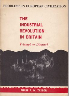 Image for The Industrial Revolution in Britain: Triumph or disaster? (Problems in European civilization series)
