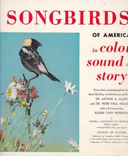 Image for Songbirds of America in Color, Sound and Story (A Cornell Laboratory of Ornithology Book Album with High-fidelity 33 1/3 Record)
