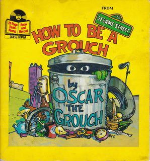 Image for How to Be a Grouch Sesame Street Record & Book
