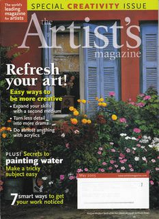 Image for The Artist's Magazine May 2005