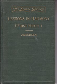 Image for The first forty lessons in harmony