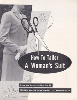 Image for How to Tailor A Woman's Suit: Home and Garden Bulletin No. 20