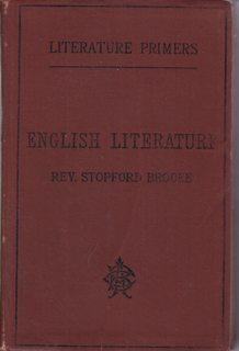 Image for English literature: With chapters on the Victorian age, by Charles F. Johnson (Literature primers)