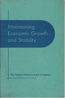 Image for Maintaining Economic Growth and Stability