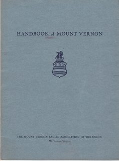Image for Handbook of Mount Vernon